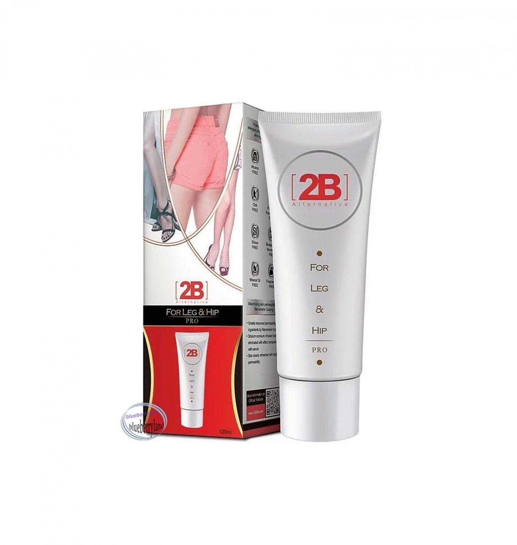 2B Alternative for Leg & Hip Pro Slimming Gel 120ml women ladies girls