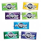 Eclipse Sugarfree Mints various fruit / mint flavors at your choice 2x candies drops ladies men