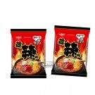 2 Pcs Nissin Noodles Korean Spicy flavor Instant Noodle snacks Demae Ramen