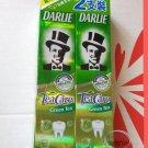 DARLIE Tea Care Organic GREEN TEA Fluoride Toothpaste Teeth Care 2x 160g