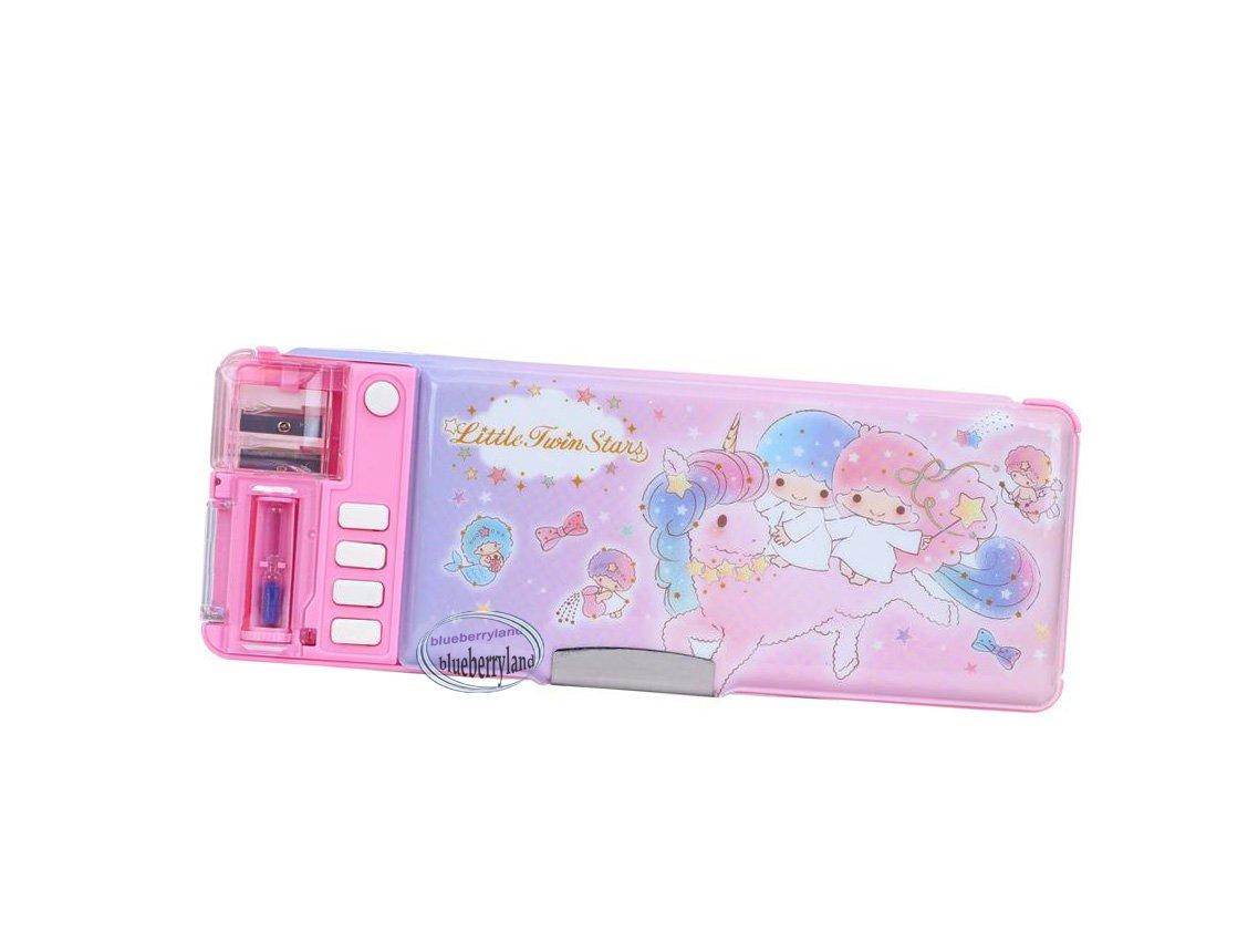 Sanrio Little Twin Stars Multi-function Magic Pen Case / Pencil Box girls back to School stationery