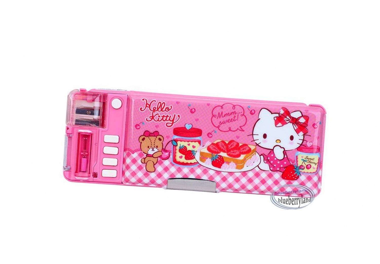Sanrio Hello Kitty Multi-function Magic Pen Case / Pencil Box set girls back to School stationery