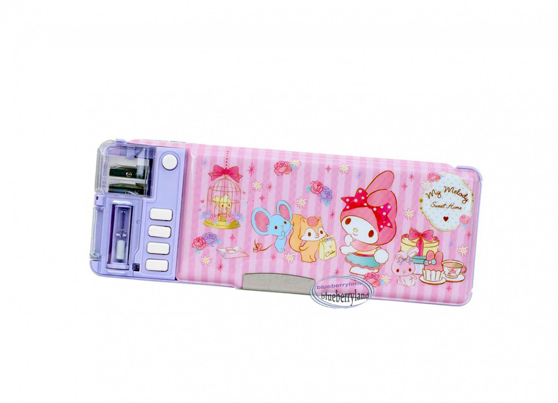Sanrio My Melody Multi-function Magic Pen Case / Pencil Box set girls back to School stationery