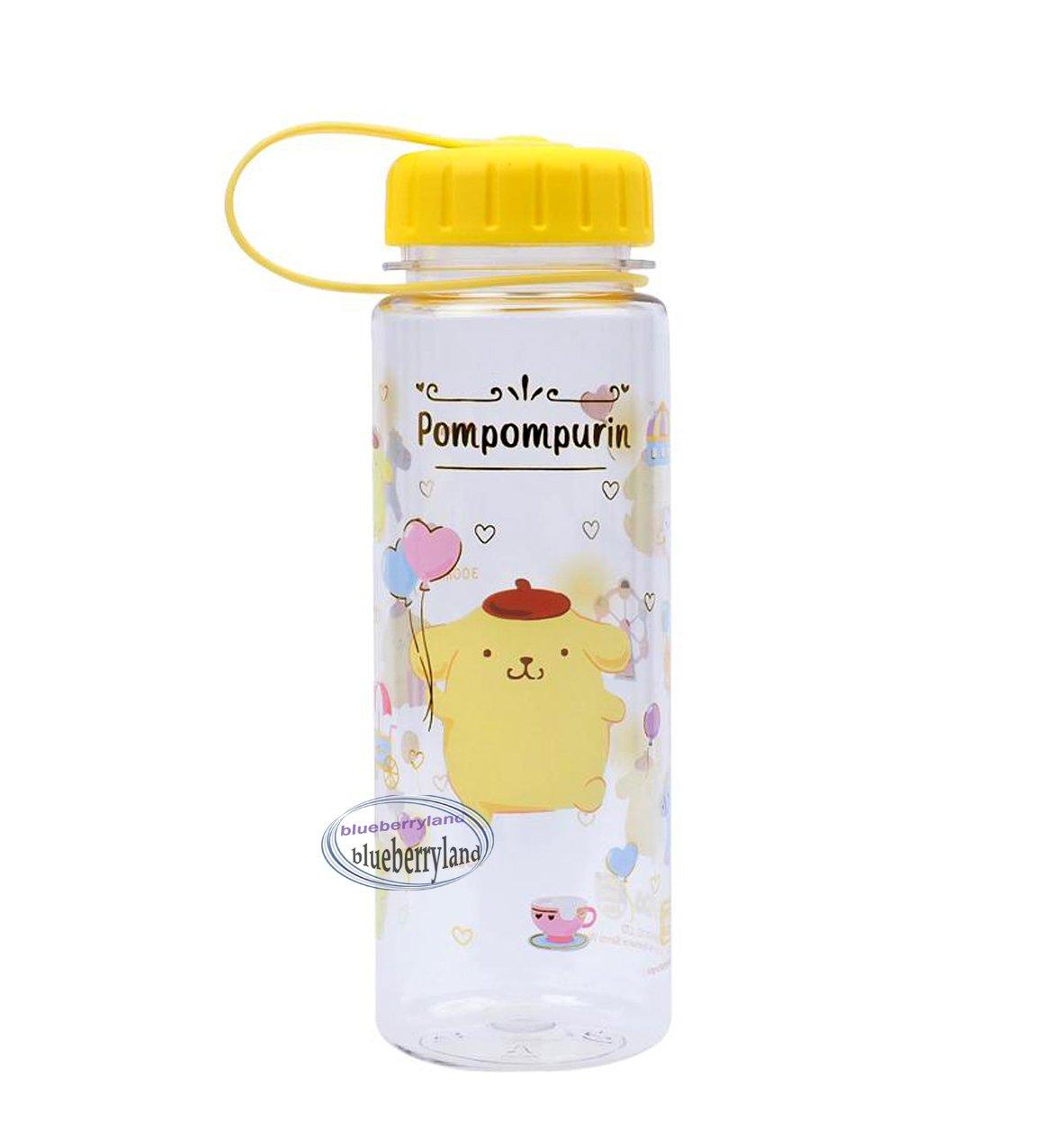 Sanrio Pompompurin Water Bottle BPA Free drinkware Juice container 450ml ladies girls kids