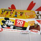 Zaini Disney Mickey Mouse & Friends Chocolate Surprise 3 Eggs w Toy Figure Inside choco ladies kid