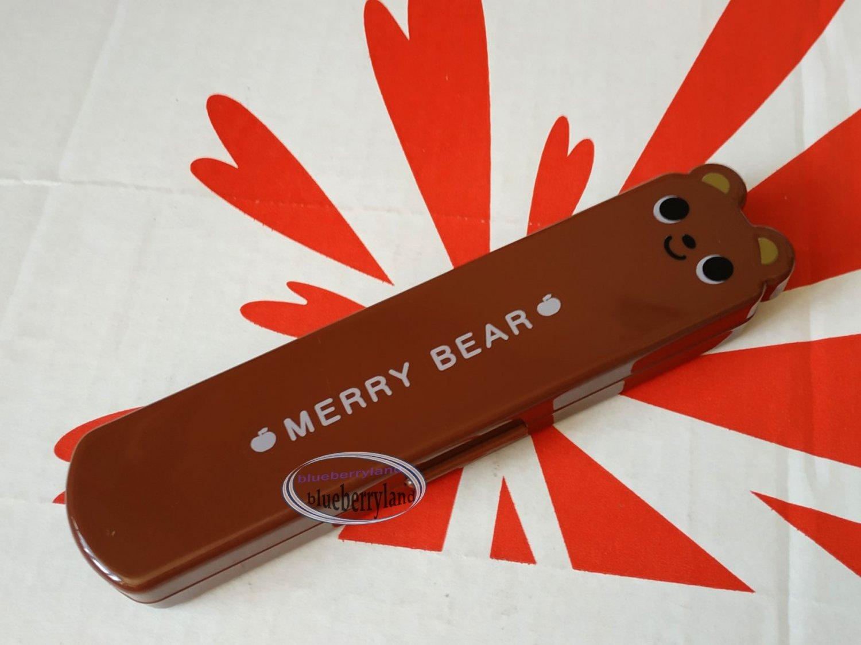 BEAR Cutlery set Fork Spoon Chopstick case sets bento lunchbox accessories