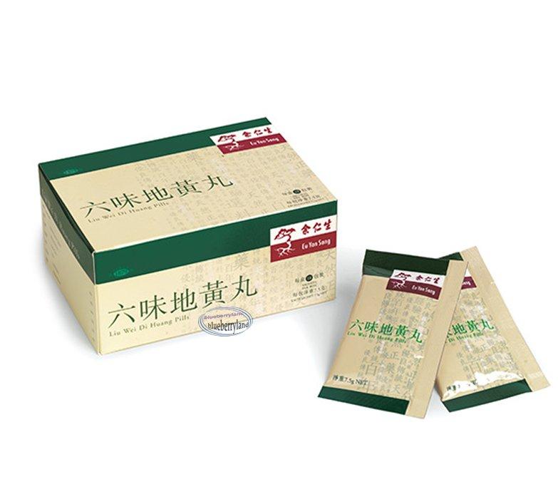 Eu Yan Sang Rehmannia Six (Liu Wei Di Huang) Pills ~ 18 sachets ����丸