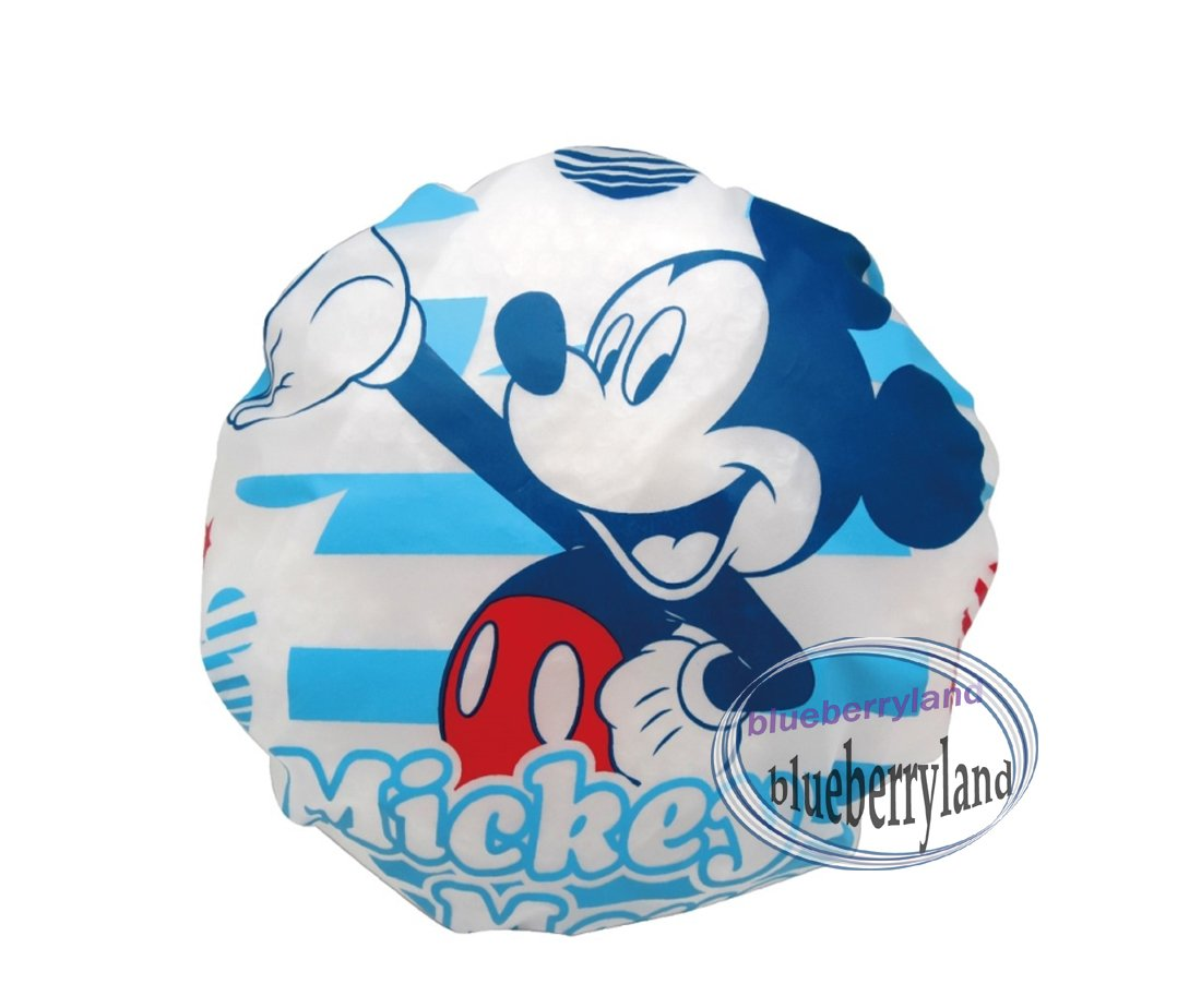 Disney Mickey Mouse Shower cap hat for adult children bathroom bath accessory accessories