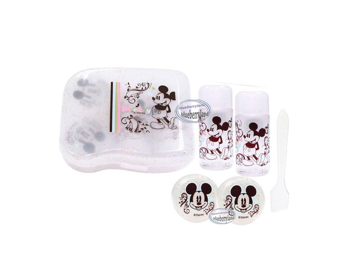 Disney Mickey Mouse Cream Case Lotion Bottle Travel Set Kit health beauty ladies
