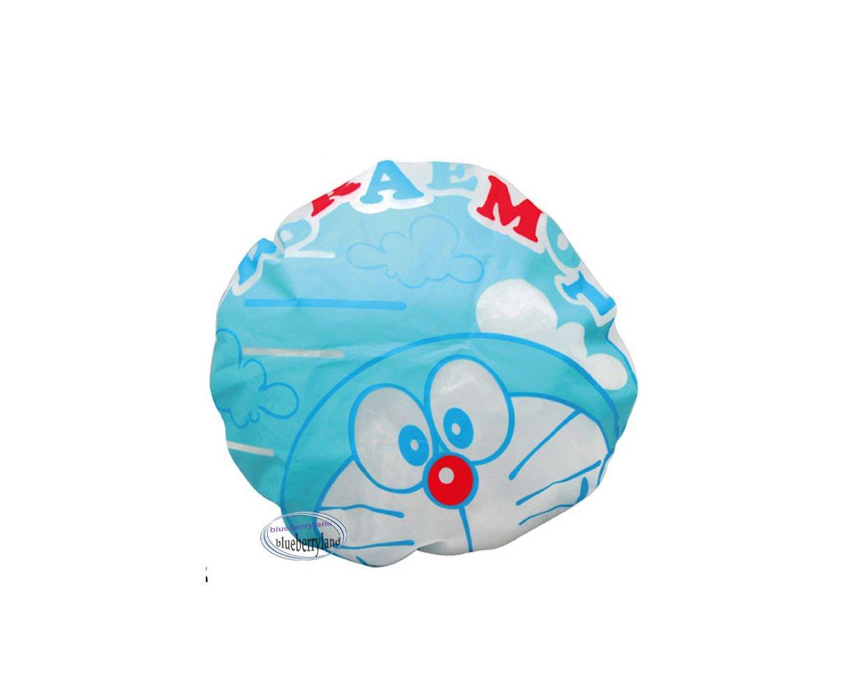 Doraemon Shower cap hat for adult children bathroom bath accessories ladies girls P9