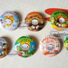 Sanrio Hello Kitty collectible Pins Badge 7 pieces set Pin buttons girls ladies