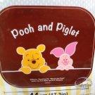 Disney Winnie The Pooh & Piglet Windshield Sunshade Car Screen sun Shade set auto PP