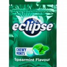 Wrigley's Eclipse Chewy Mints Spearmint Flavor Candy 45g x 2 Packets