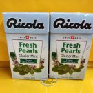 Ricola Swiss Herbal Sugar-free Glacier Mint Pearls Candy 2 boxes Candies  snack sweet