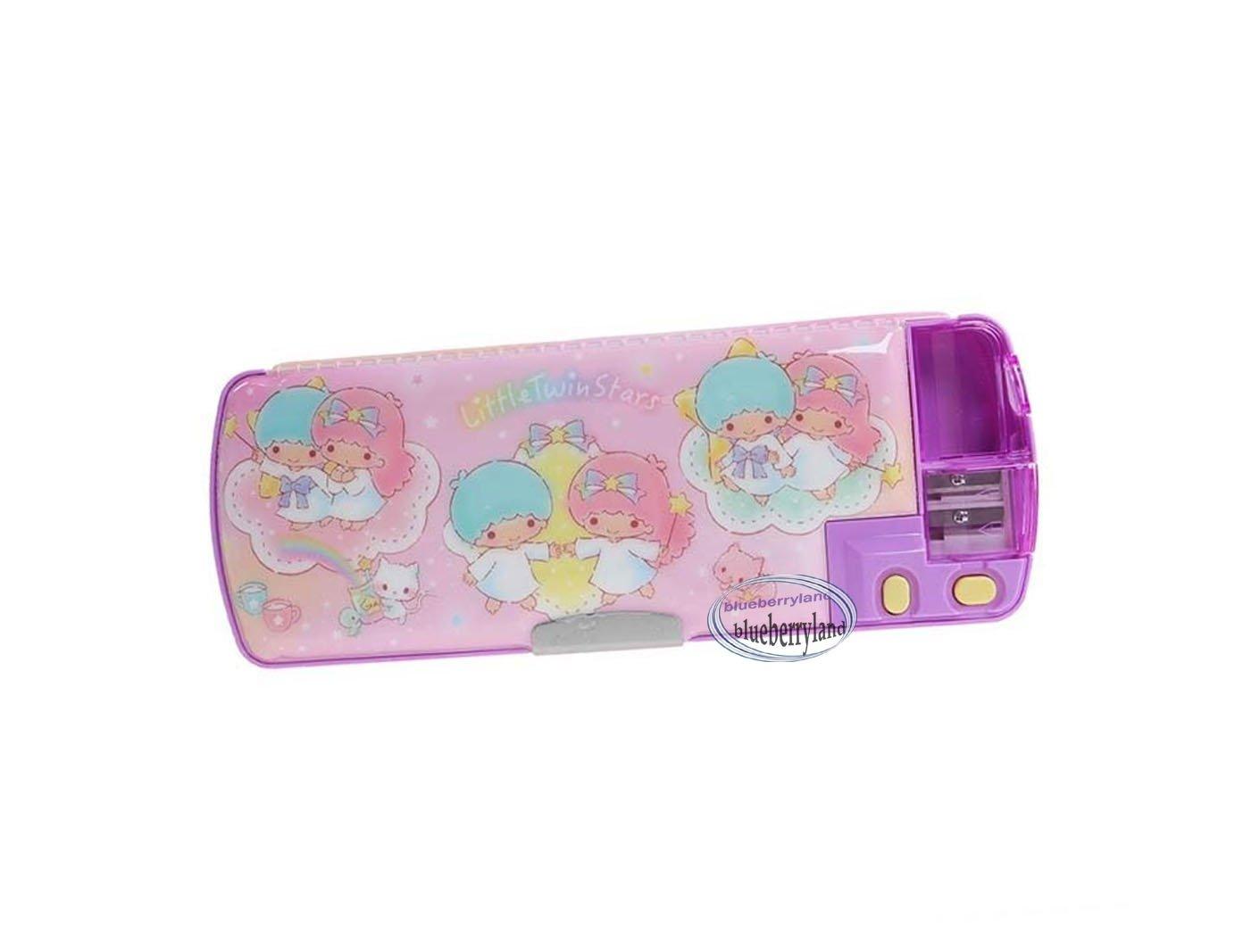 Sanrio Little Twin Stars Multi functional pencil pen case box sharpener girls School stationery D9