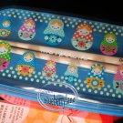 Japan Bento Dolls LunchBox Food Container Chopsticks Belt Lunch Box Bag 4 Pcs Set