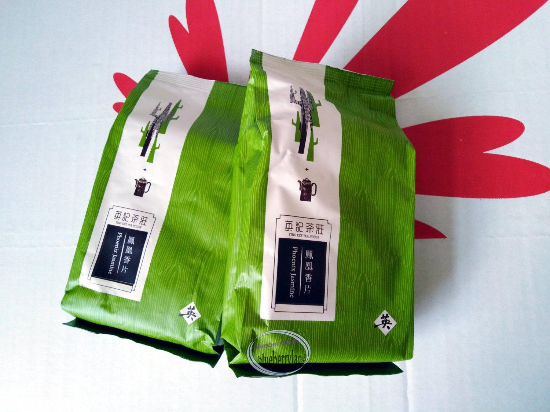 Phoenix Jasmine Green Tea Chinese Loose Tea leaf Ying Kee Tea House 2x 150g 鳳���