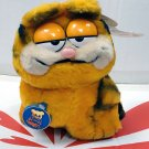 Vintage Dakin Garfield Cat 7 inches Tall Plush Toy Doll Stuffed Animal Figures Plushies