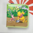 Disney Winnie The Pooh 40 CD DVD ORGANIZER STORAGE HOLDER CARRY CASE green