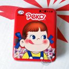 Japan Fujiya Peko Caramel Milk Ball Candy in Red Tin 30g sweet candies kids
