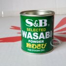 Japan S & B Selected Spice WASABI Powder Horseradish food sauce powder tin 30g