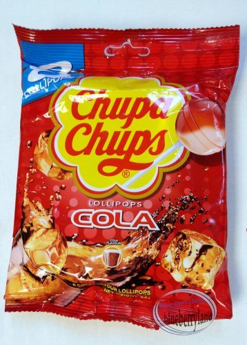 Chupa Chups Fresh Cola flavor Lollipops sweet candies kids hard candy