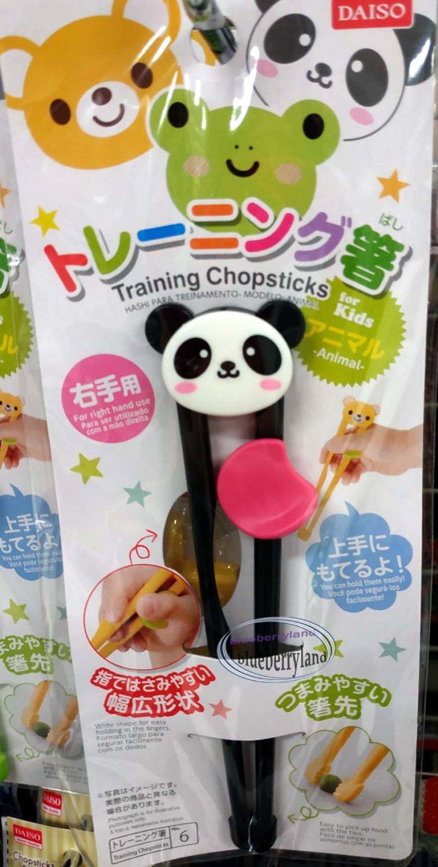 Japanese Beginner Children kid Training Learning Chopsticks Helper PANDA cutlery