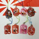 Collectible Hong Kong 7-Eleven Hello Kitty Well Wishes Amulets 8 Pcs Set girls ladies woman