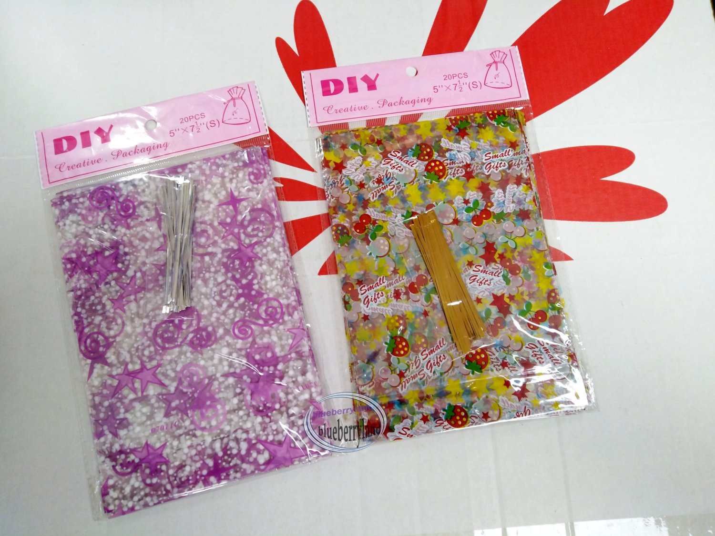 "2 x 20Pcs DIY Creative Packaging Gift Bag bags sac de cadeau size 5"" x 7-1/2"" DD"
