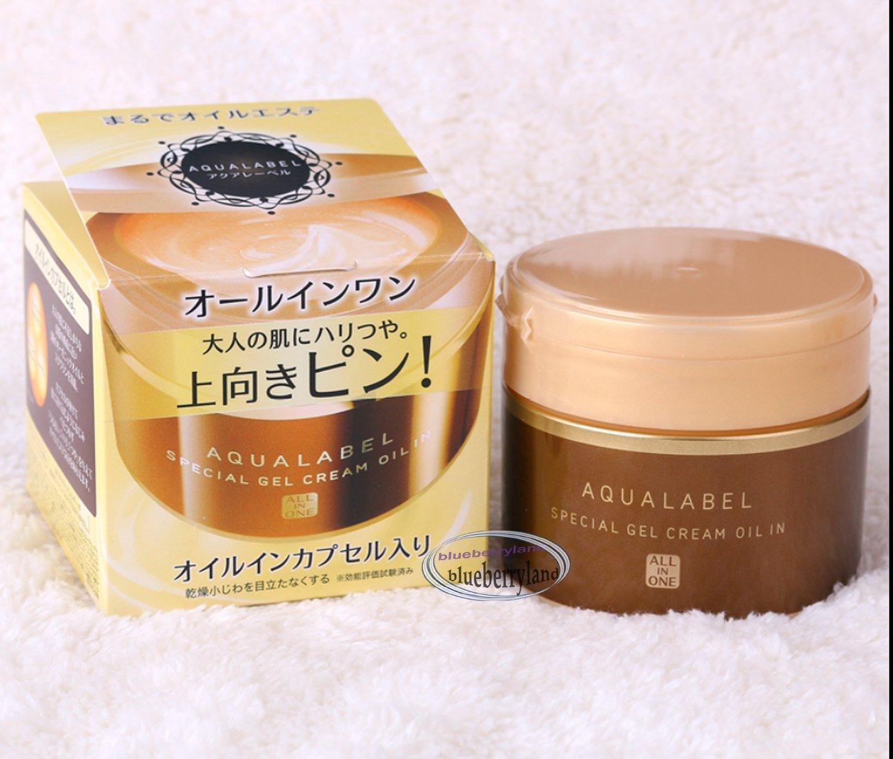 Shiseido Aqualabel Special Face Facial Gel Cream Oil In Anti-aging 90g