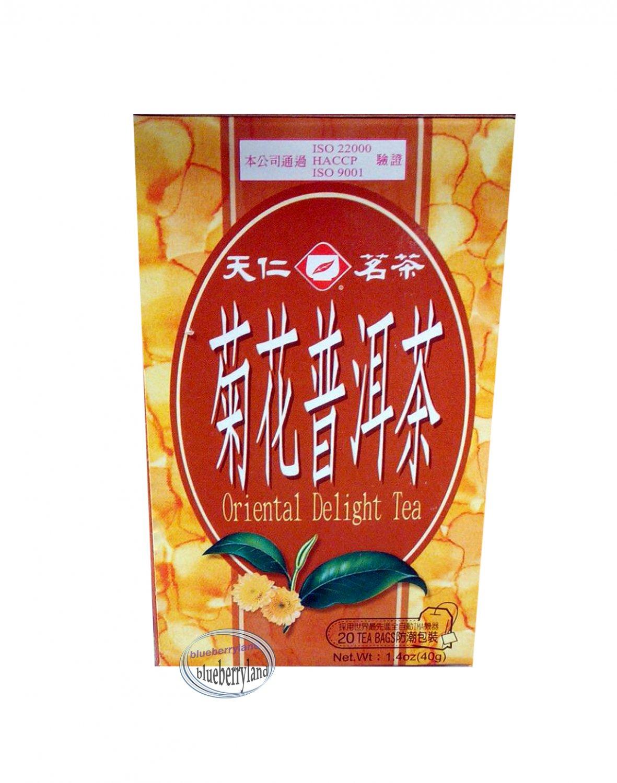 Oriental Delight Tea 40g 天����洱�