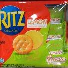 Ritz Lemon Flavor Sandwich Biscuit family pack snack cookie sweets cookies