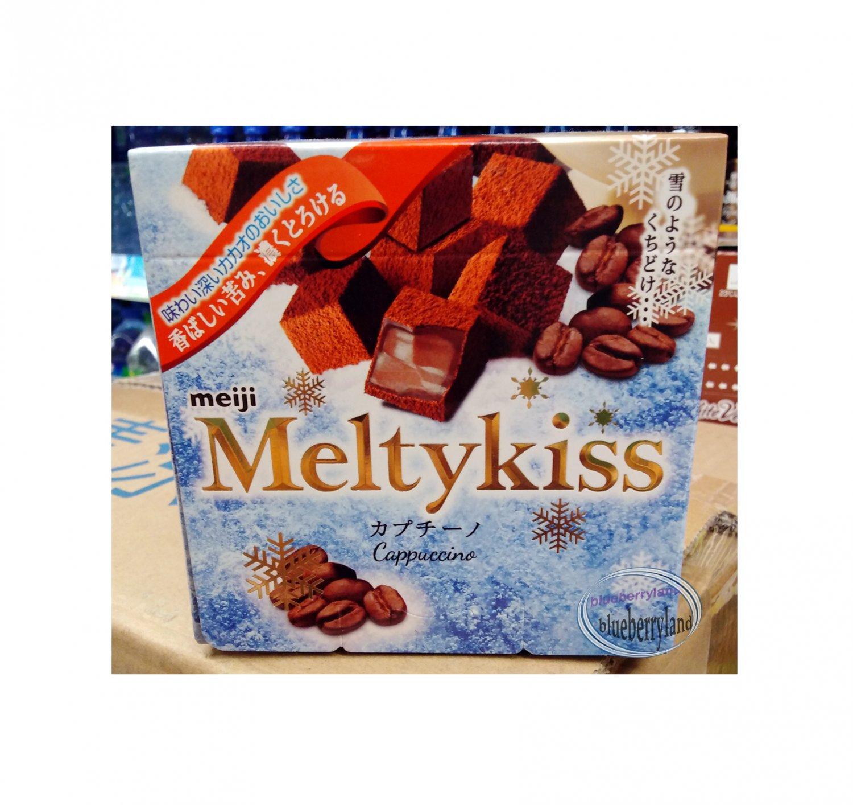 Japan Meiji Meltykiss Cappuccino Chocolate choco ladies kid sweets treats snacks