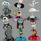 6pcs Collectible Nightmare Before Christmas PVC Action Figures Toy Gift Set