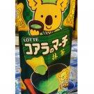 Lotte Koala's March Matcha Green Tea flavor Chocolate snack sweets ladies kid