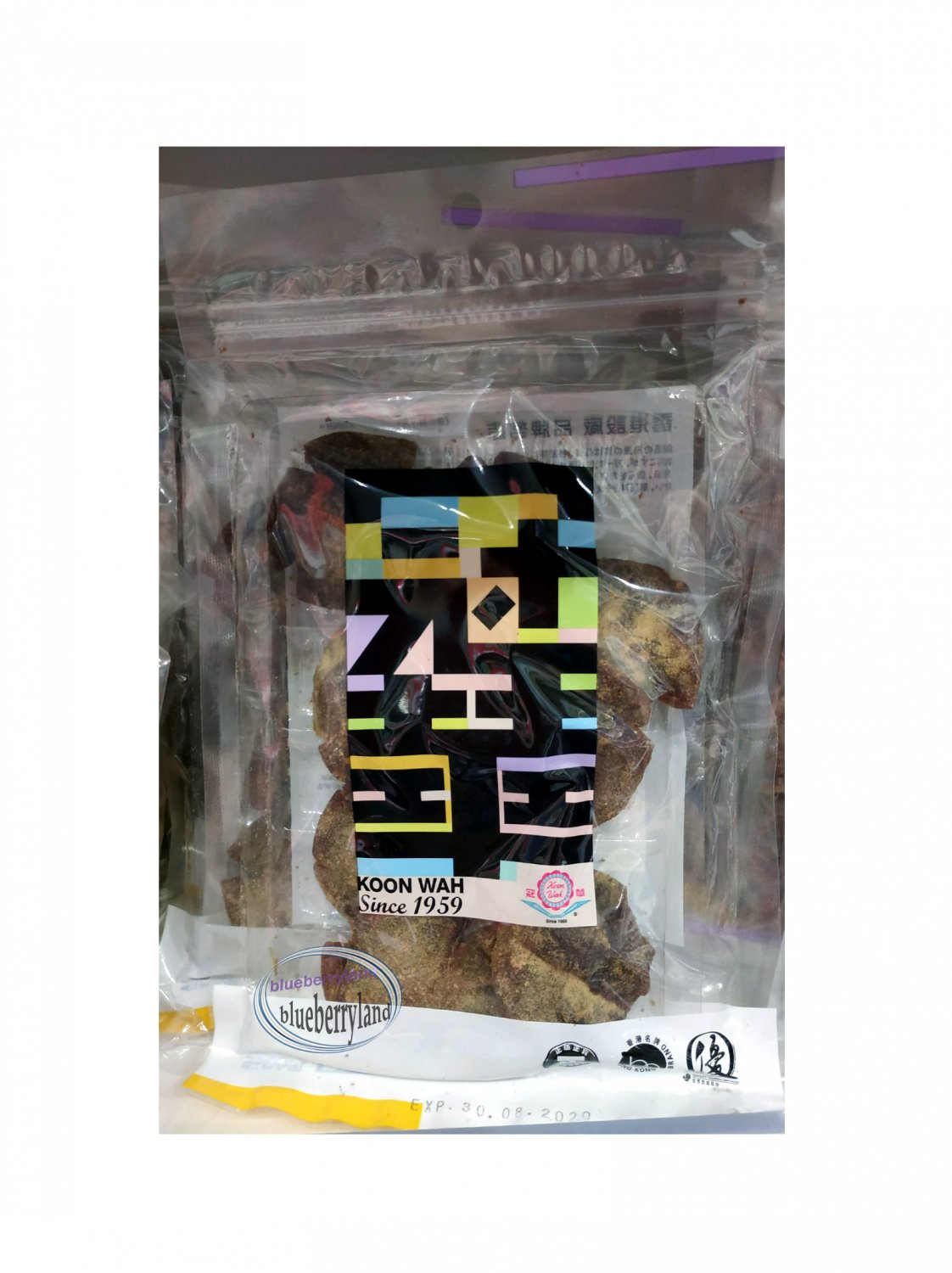 Hong Kong Koon Wah Preserved Licorice Lemon Food Snack �港����檸檬