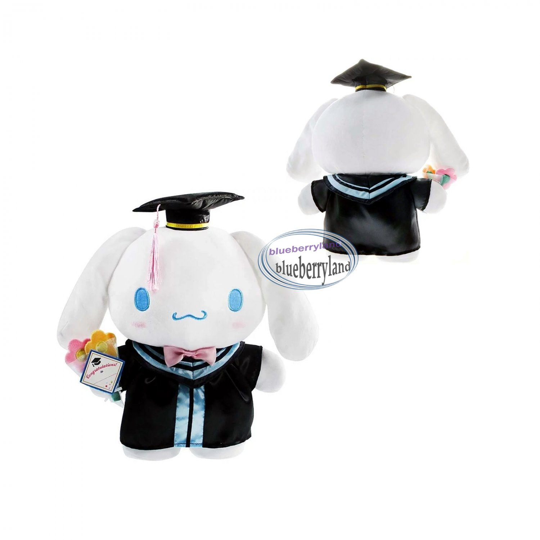Sanrio Cinnamoroll Puppy 30cm Tall XO Plush Doll figure Graduation GIFT school university girls