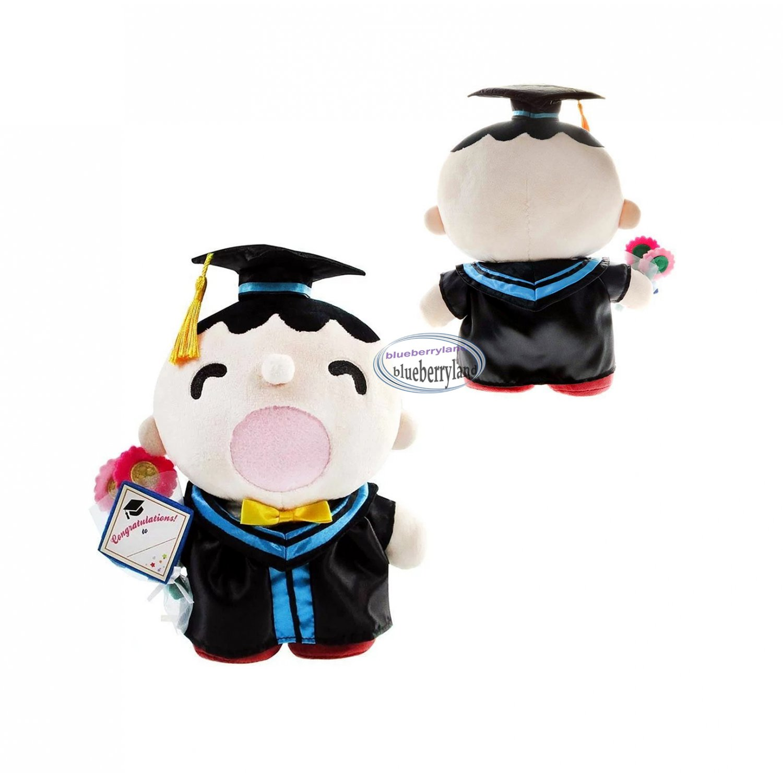 Sanrio Minna No Tabo 30cm Tall Plush Doll figure Graduation GIFT school university girls