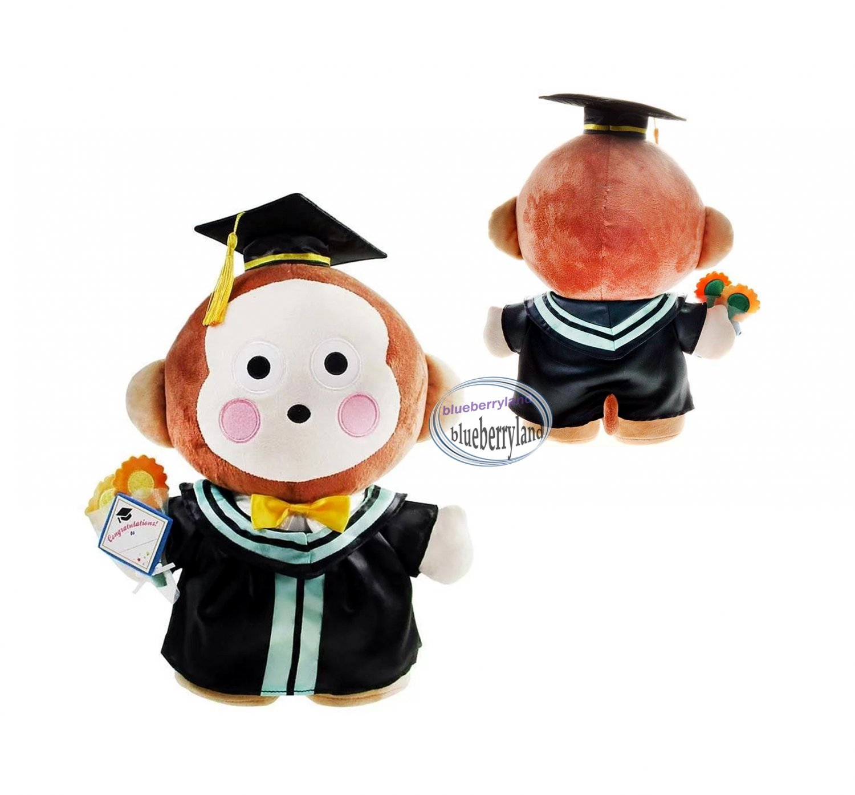 Sanrio Osaru No Monkichi 30cm Tall Plush Doll figure Graduation GIFT school university girls