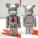 Medicom Toy 2001 Be@rbrick 100% Bearbrick Figure Brothersworker