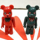 Medicom Toy 2001 Christmas Be@rbrick 100% Bearbrick 2 Pcs Action Figure Set collectible