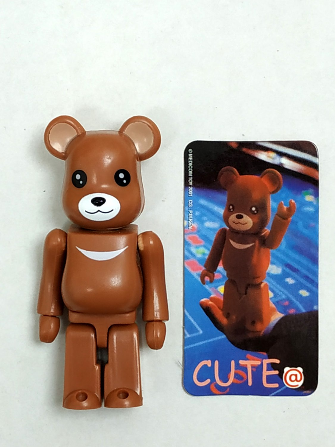 Medicom Toy 2001 Be@rbrick 100% Bearbrick Series 2 Cute Action Figure S2 collectible
