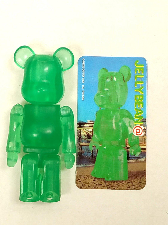 Medicom Toy 2001 Be@rbrick 100% Bearbrick Series 2 Jellybean Action Figure S2 collectible
