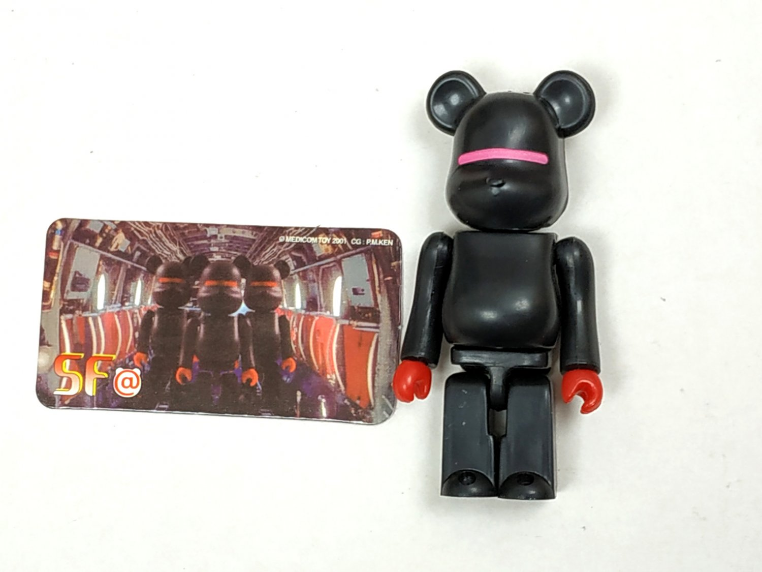 Medicom Toy 2001 Be@rbrick 100% Bearbrick Series 2 SF Action Figure S2 collectible