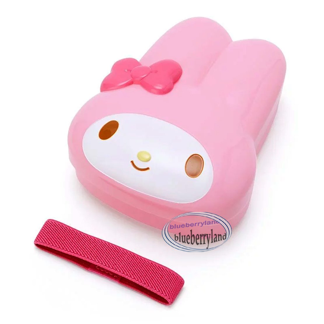 Sanrio My Melody Bento Lunchbox Food Container with Belt  Hello Kitty