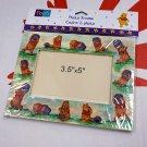 "Disney Winnie The Pooh 3.5 "" x 5"" Paper Photo Frame + Classic Pooh Pop-up Greeting Card"