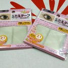 Japanese Makeup Double Eyelid Adhesive Tape Slim Type Eye make up eyelash 21 Set x 2 Packs
