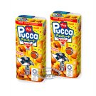 2x Meiji Pucca Chocolate Cream Biscuit Snack Cookie TV ball games sweets snacks kids ladies