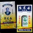 Wong To Yick Woodlock Ointment Medicated Oil Balm Pain Relief Muscle Sprain 50ml 黃道益活絡油