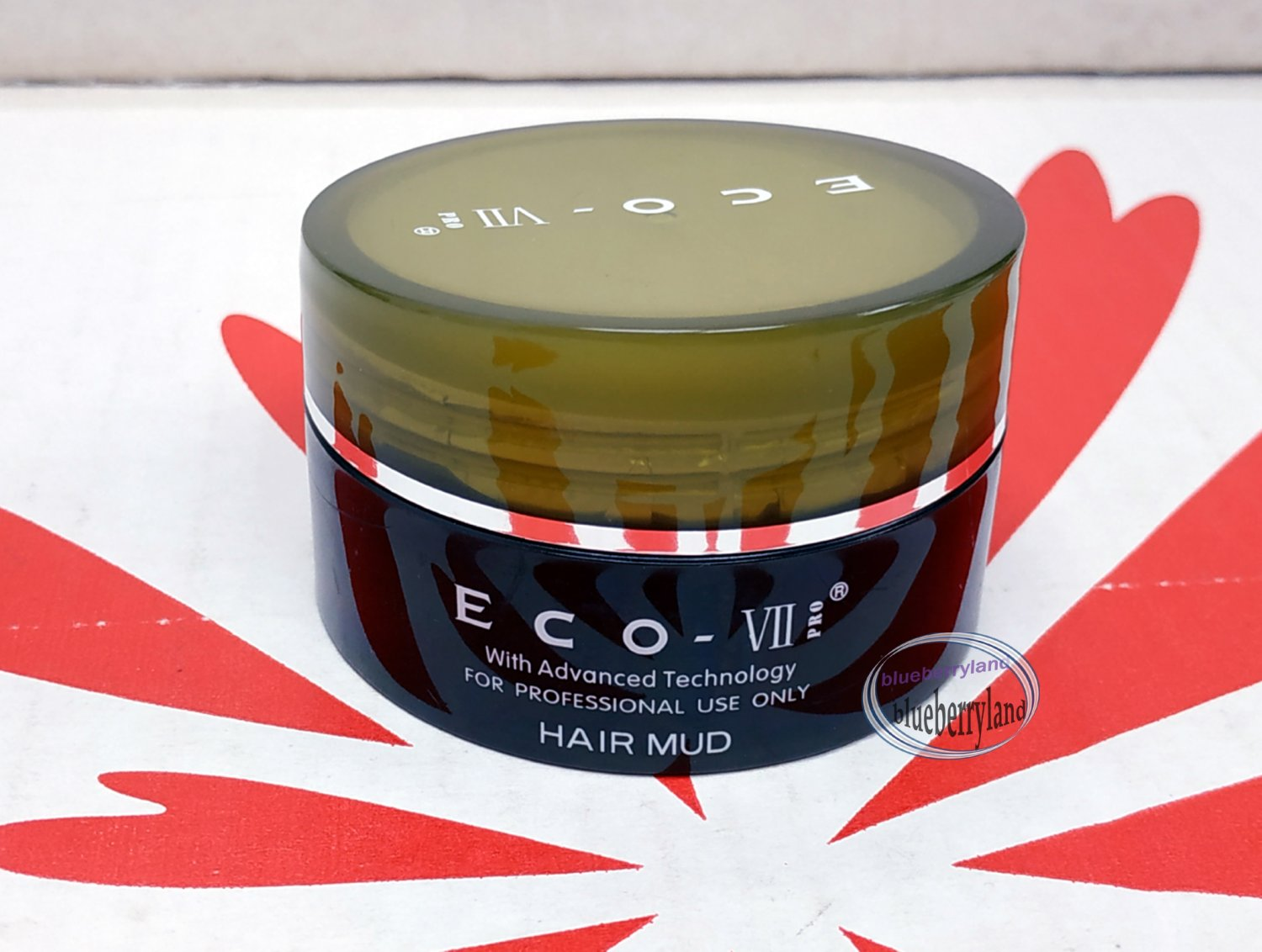 ECO VII Pro Hair Mud 85g molding clay paste gel hair style